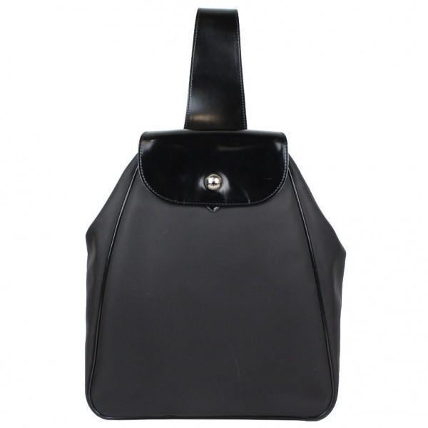 Petits Longchamp Sac À Bandoulière Avec Noir Toile Défauts Neuf Dos Mono 6Bn5Z6f