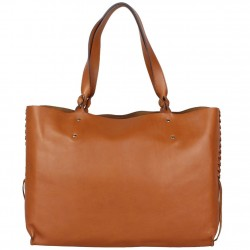 Sac cabas cuir souple Texier fabrication France 23716 TEXIER - 4