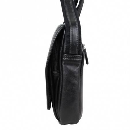 Petite pochette bandoulière en cuir SFF36101 SAFARI - 4