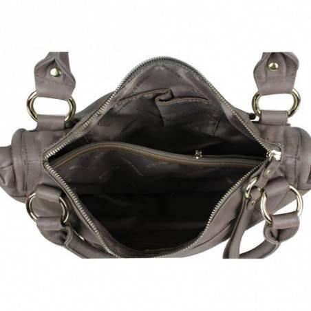 Sac cabas cuir rigide Thierry Mugler Zenith Ellipse 6 ARTHUR & ASTON - 3