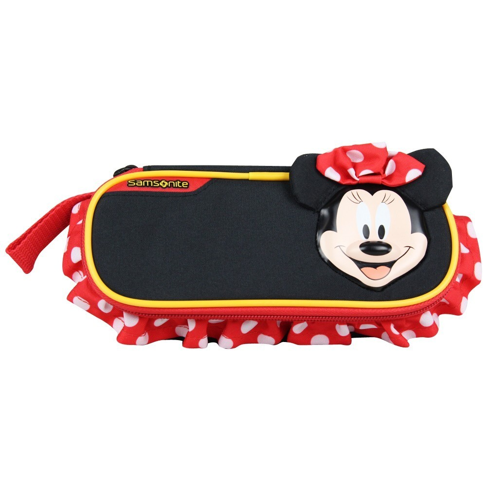 Trousse plumier ovale toile Samsonite Minnie Mouse Disney SAMSONITE - 1
