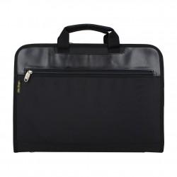 Porte documents ultra plat portfolio tissu et effet cuir Elite Nouvelty 6116  ELITE DESIGN - 1