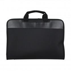 Porte documents ultra plat portfolio tissu et effet cuir Elite Nouvelty 6116  ELITE DESIGN - 2