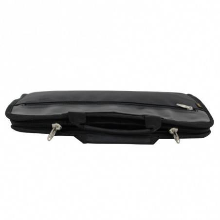 Porte documents ultra plat portfolio tissu et effet cuir Elite Nouvelty 6116  ELITE DESIGN - 5