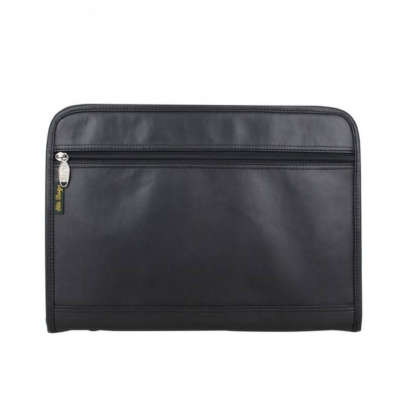 Porte documents ultra plat portfolio effet cuir Elite 8661 ELITE DESIGN - 1