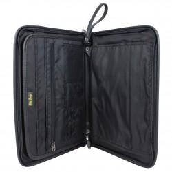 Porte documents ultra plat portfolio effet cuir Elite 8661 ELITE DESIGN - 2