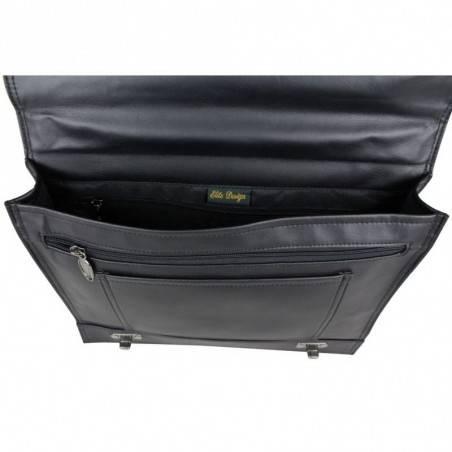 Porte documents serviette effet cuir 1 compartiment Elite 8668 ELITE DESIGN - 5