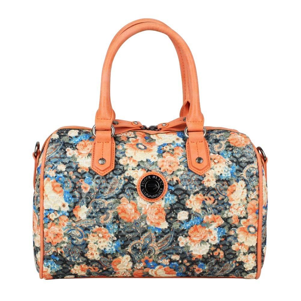 Sac bowling Patrick Blanc motif floral et brillant 510047 PATRICK BLANC - 1