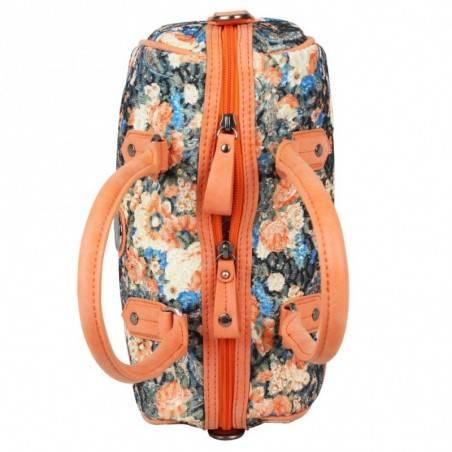 Sac bowling Patrick Blanc motif floral et brillant 510047 PATRICK BLANC - 2