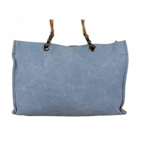 Grand sac cabas Superga toile motif effet peinture 20405 SUPERGA - 4