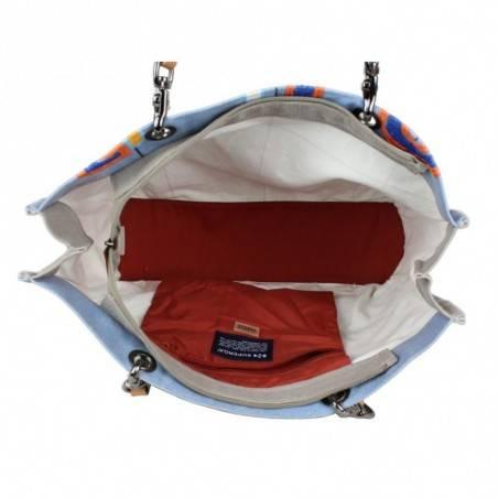 Grand sac cabas Superga toile motif effet peinture 20405 SUPERGA - 3