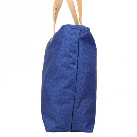 Sac cabas Eastpak Ek858 Flask 44G Leaves motif bleu