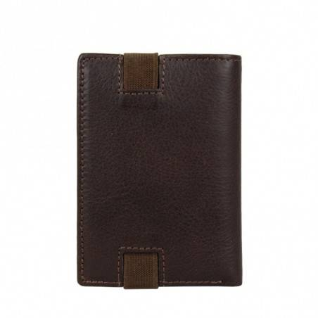 Petit porte cartes fermé élastique cuir David William D5351 DAVID WILLIAM - 4