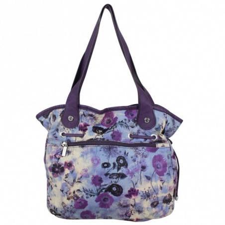 Sac bourse Patrick Blanc motif floral 510015 PATRICK BLANC - 4