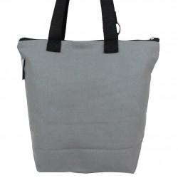 Sac tote bag motif bohème design Tour Eiffel fond gris 0002 A DÉCOUVRIR ! - 3