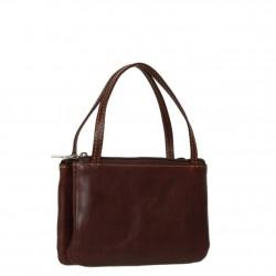 Porte monnaie mini sac cuir fermoir vintage Tony Perotti Tony PEROTTI - 4