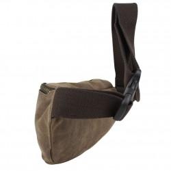 Pochette forme poire à porter devant noir ou gris de marque Serge blanco ost11006 SERGE BLANCO - 3