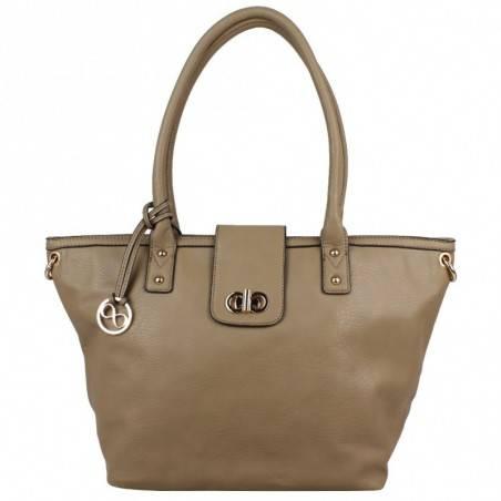 Grand sac cabas demi chaine Andie Blue A8095 A DÉCOUVRIR ! - 13