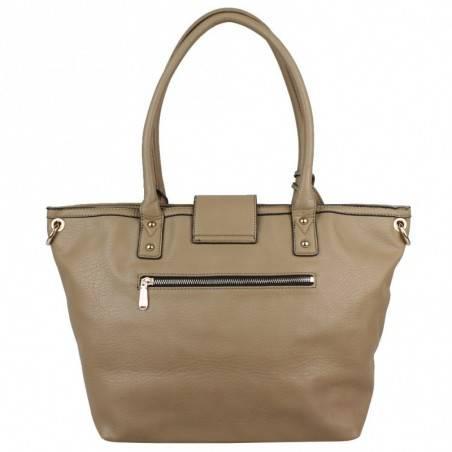 Grand sac cabas demi chaine Andie Blue A8095 A DÉCOUVRIR ! - 16