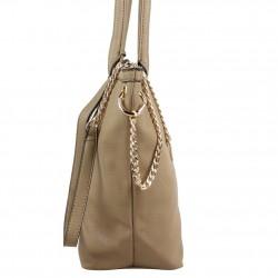 Grand sac cabas demi chaine Andie Blue A8095 A DÉCOUVRIR ! - 15