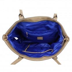 Grand sac cabas demi chaine Andie Blue A8095 A DÉCOUVRIR ! - 14