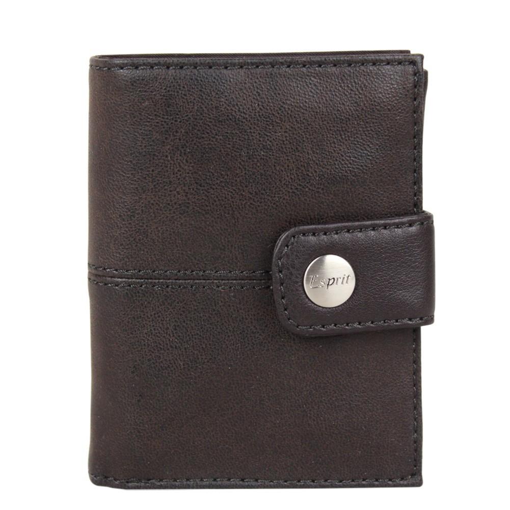 Petit portefeuille Esprit effet cuir vieilli pression A15025 ESPRIT - 1
