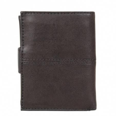 Petit portefeuille Esprit effet cuir vieilli pression A15025 ESPRIT - 4