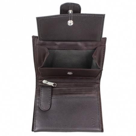 Petit portefeuille Esprit effet cuir vieilli pression A15025 ESPRIT - 2
