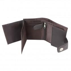Petit portefeuille Esprit effet cuir vieilli pression A15025 ESPRIT - 3