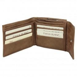 Porte monnaie Patrick Blanc cuir effet métallisé 7EH60 PATRICK BLANC - 4