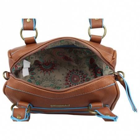 Petit sac à main bowling SMASH Isma Marron SMASH - 3