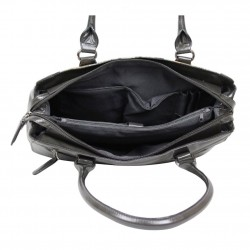 Sac porté épaule cabas motif Patrick Blanc 417009 PATRICK BLANC - 4