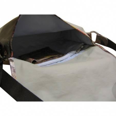 Grand sac bandoulière façon gibecière Texier 19305 Fabriquer en France TEXIER - 4