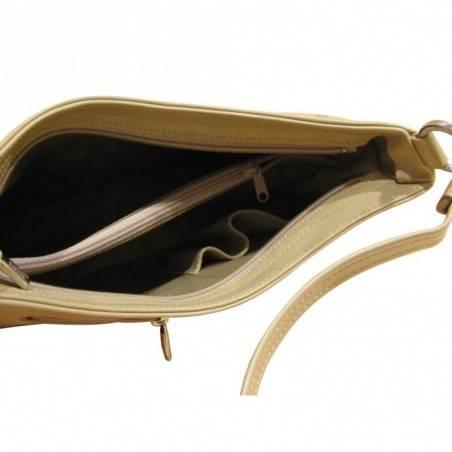 Sac bandoulière Texier cuir fabriqué en France TEXIER - 2