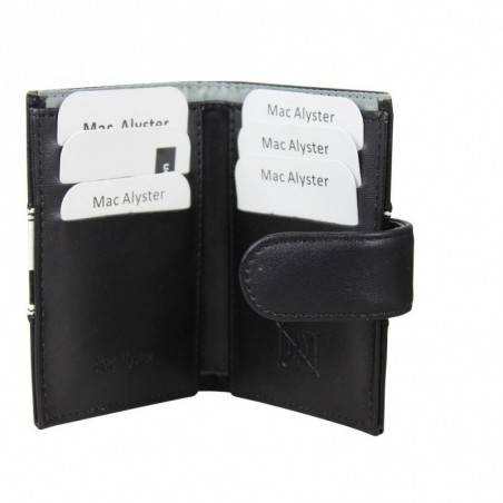 Porte cartes bicolore Mac Alyster 726A anti piratage RFID MAC ALYSTER  - 2