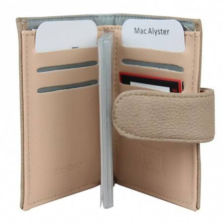 Porte cartes Mac Alyster 726E sécurisé anti piratage RFID MAC ALYSTER  - 2