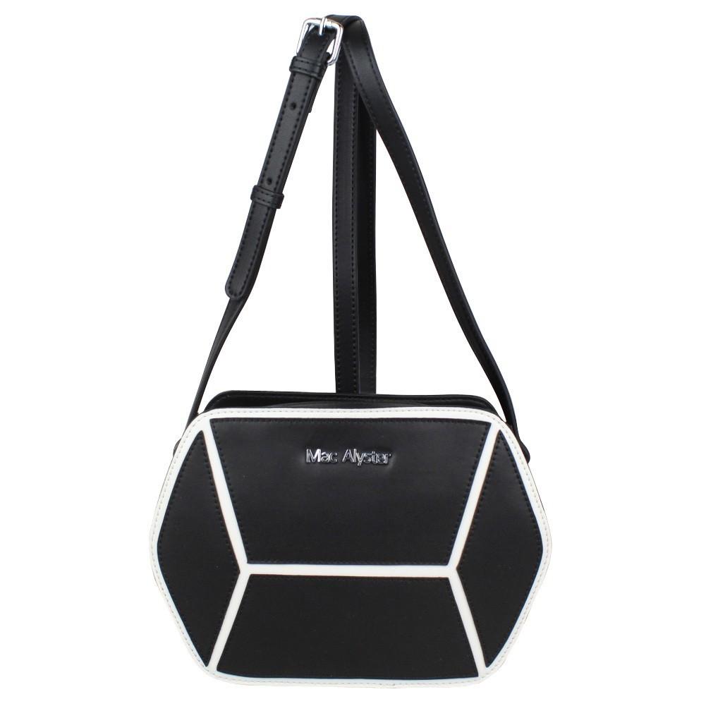 Sac bandoulière hexagonal cuir Mac Alyster A50-504F MAC ALYSTER  - 1
