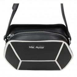 Sac bandoulière hexagonal cuir Mac Alyster A50-504F MAC ALYSTER  - 4