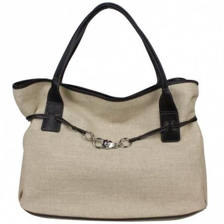 Grand sac cabas toile Texier fabriquée en France 5425 TEXIER - 1