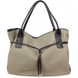 Grand sac cabas toile Texier fabriquée en France 5425 TEXIER - 2