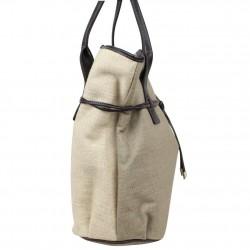 Grand sac cabas toile Texier fabriquée en France 5425 TEXIER - 3