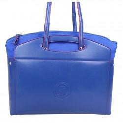 Sac porté épaule cabas multicolore toile Patrick Blanc 8903 PATRICK BLANC - 4