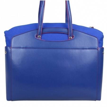 Sac porté épaule cabas multicolore toile Patrick Blanc 8903 PATRICK BLANC - 16