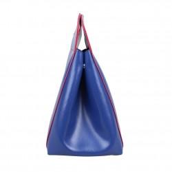 Sac porté épaule cabas multicolore toile Patrick Blanc 8903 PATRICK BLANC - 22