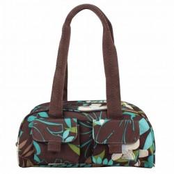 Petit sac baguette demi-rond motif fleurs Roxy XRWBA ROXY - 1
