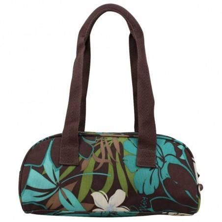 Petit sac baguette demi-rond motif fleurs Roxy XRWBA ROXY - 4