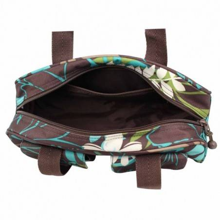 Petit sac baguette demi-rond motif fleurs Roxy XRWBA ROXY - 3