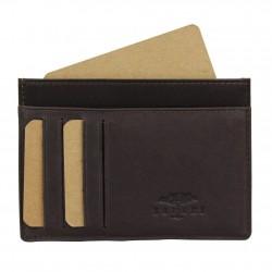 Petit porte cartes cuir ultra plat Jean Louis Fourès X15 sécurisé Anti RFID Fabrication Française SAFARI - 1