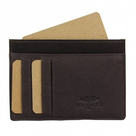 Porte cartes cuir brut ultra plat Safari Vintage SAFARI - 1