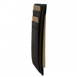 Petit porte cartes cuir ultra plat Jean Louis Fourès X15 sécurisé Anti RFID Fabrication Française SAFARI - 2
